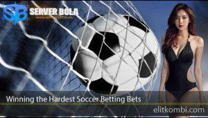 Winning the Hardest Soccer Betting Bets